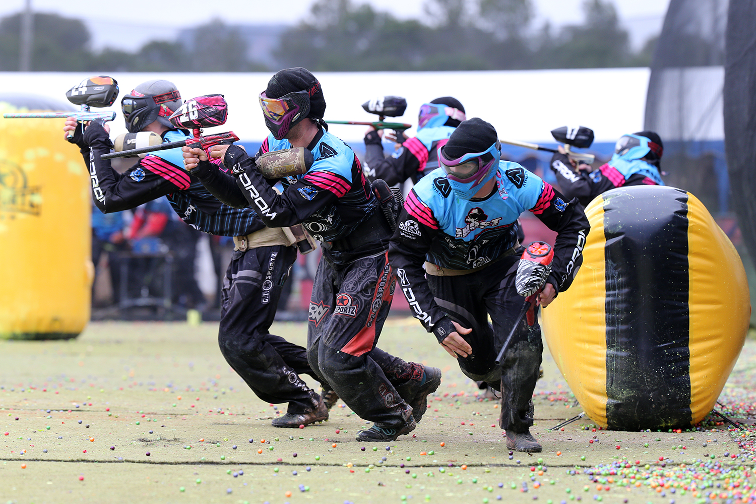 Finale del Campionato Italiano Paintball - 5 MAN